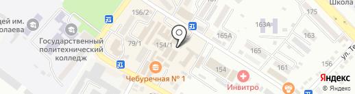 Мир косметики на карте Михайловска