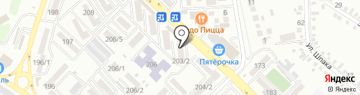 Магазин женской одежды на карте Михайловска