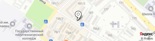Банкомат, Минбанк, ПАО на карте Михайловска