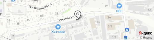 Строй Декор на карте Ставрополя