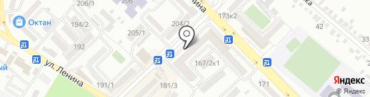 Три Шоколада на карте Михайловска