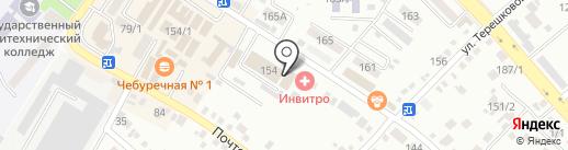 Типография на карте Михайловска