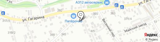 Infinity на карте Михайловска