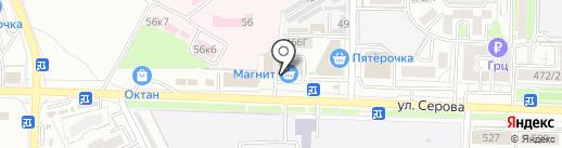 Nirvana на карте Ставрополя