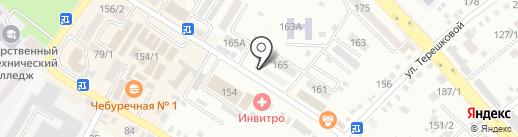 Кураторгъ на карте Михайловска