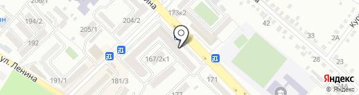 Антонина на карте Михайловска