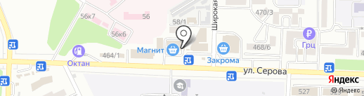 Стрекоза на карте Ставрополя