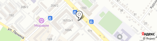 Мио на карте Михайловска