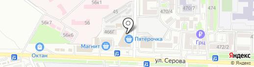 100 ПУДОВ на карте Ставрополя