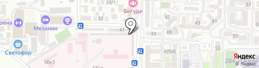 Магазин автотоваров на карте Ставрополя