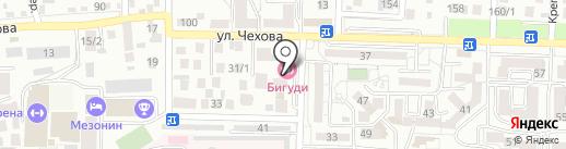 БиGUDи на карте Ставрополя