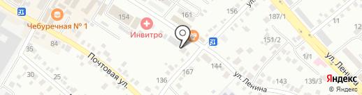 Канц Марка на карте Михайловска