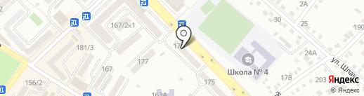 Детская художественная школа на карте Михайловска