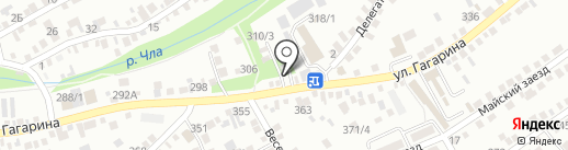 А312 на карте Михайловска