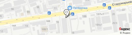 Пульс на карте Ставрополя