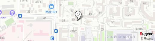 Pelican на карте Ставрополя