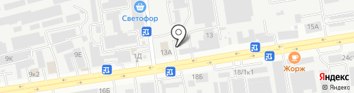 DB Schenker на карте Ставрополя