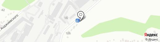 Компания на карте Ставрополя