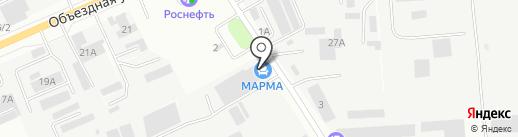 МАРМА на карте Ставрополя