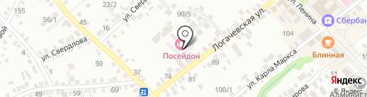 Посейдон на карте Михайловска