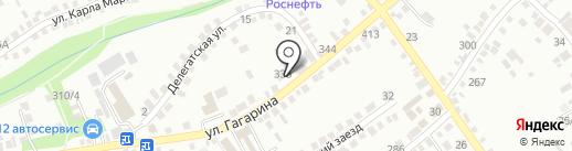 Центральная районная аптека, ГУП на карте Михайловска
