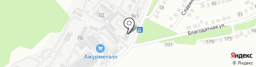 Альянс Логистика на карте Ставрополя