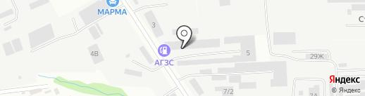 Каскад на карте Ставрополя