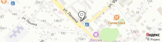 Надежда и Ко на карте Михайловска