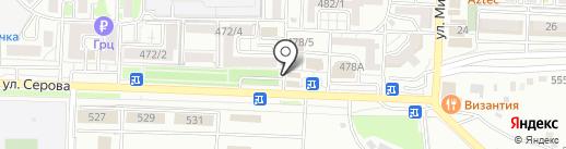Магазин фотосувениров на карте Ставрополя