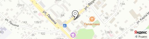 Автошкола на карте Михайловска