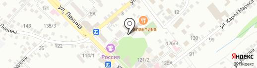 Центральный дом культуры на карте Михайловска