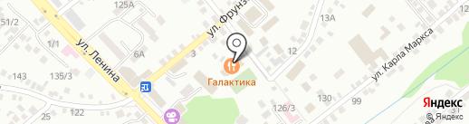 Алые паруса на карте Михайловска