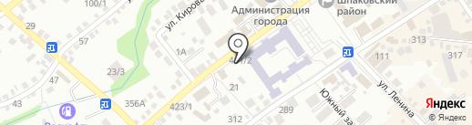 Melange на карте Михайловска