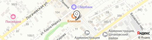 МТС на карте Михайловска