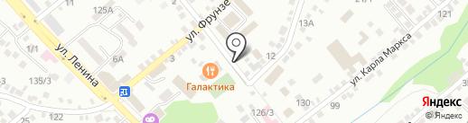 Всероссийское добровольное пожарное общество на карте Михайловска