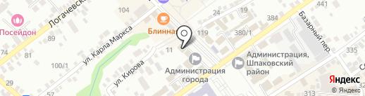 Историко-Краеведческий музей им. Н.Г. Завгороднего на карте Михайловска