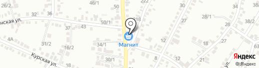 Светлана на карте Михайловска