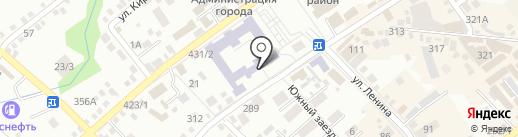 Начальная общеобразовательная школа №24 на карте Михайловска