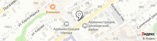 Шпаковский районный суд Ставропольского края на карте Михайловска