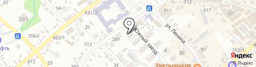 Сенгилеевский Межрайводоканал на карте Михайловска