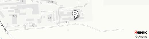 Акро на карте Ставрополя