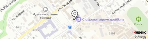 Био-Система на карте Михайловска