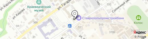 Офис-класс! на карте Михайловска