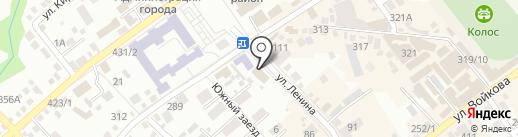 Адвокатский кабинет Загитова В.Ф. на карте Михайловска