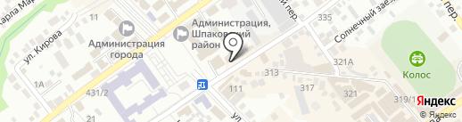 Ставропольпромстройбанк, ПАО на карте Михайловска