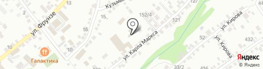 Детский сад №4 на карте Михайловска