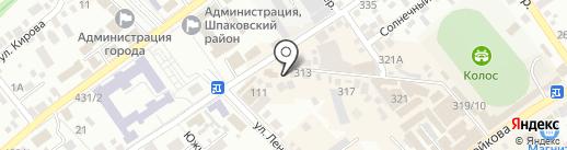 Нежность на карте Михайловска
