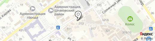 Салон-парикмахерская на карте Михайловска