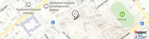 Модняшки на карте Михайловска