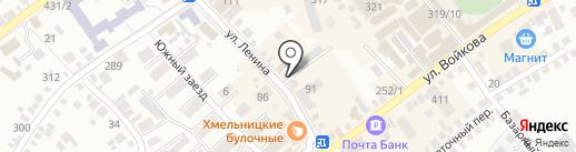 Книголюб на карте Михайловска